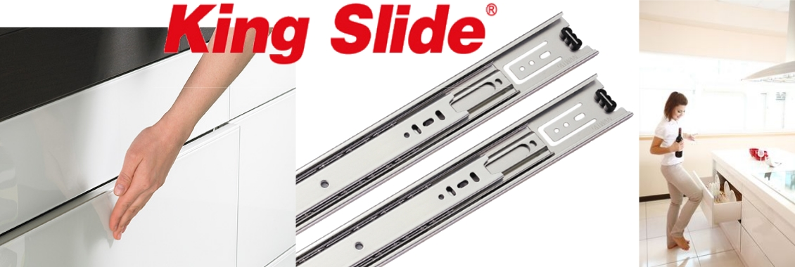 Coulisse king slide